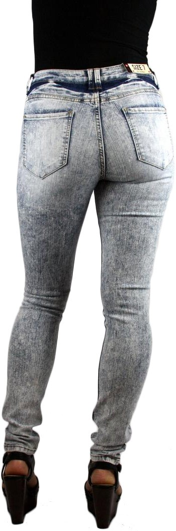 Cello Jeans Vintage Light Wash High Waist High Rise Skinny Jeans