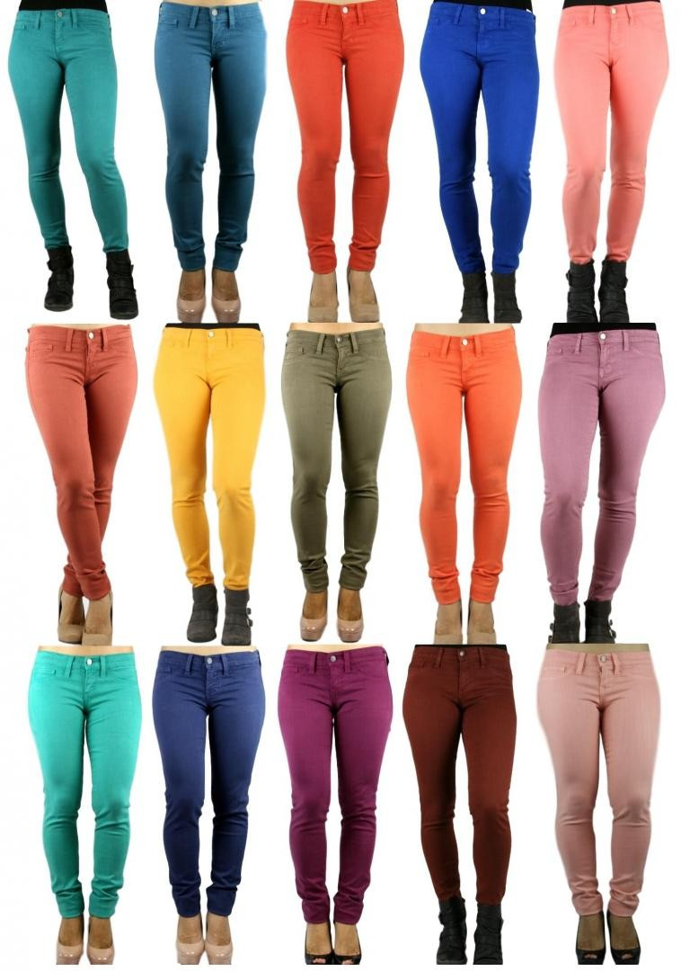 Flying Monkey Stretch Tight Colored Skinny Jeans- Made in USA
