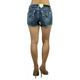 LA Idol Classic Light Blue Denim Cutoff Shorts S-L