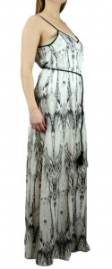 Ark & Co Sexy Snake Print Flowy Maxi Dress