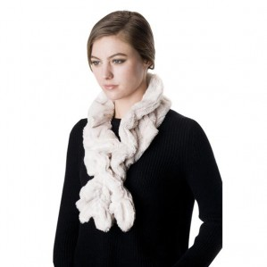 Women's Fashion Faux Fur Winter Warm Scarf