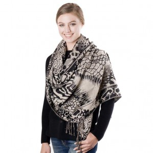Women's Animal Print Fashion Scarf Shawl