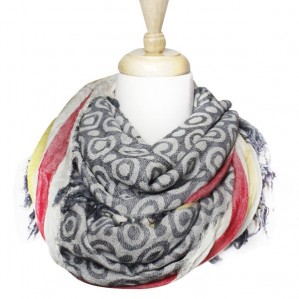 Women's Fashion Infinity Lightweight Pattern Scarf